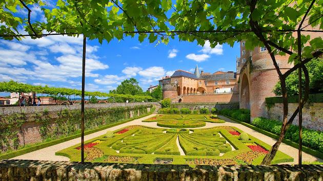 palais de la berbie albi - Маршрут по Альби: кварталы Castelviel - Castelnau – Bourg Saint-Salvi