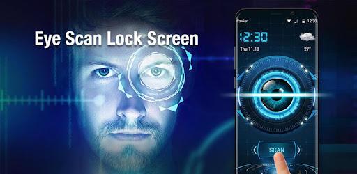 Eye Scanner Lock Screen 2018 for PC