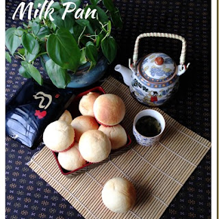 Japanese Milk Pan With Milk Puddings Fillings (日本牛奶面包)