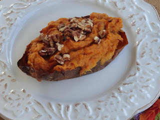 Thanksgiving Twice Baked Pumpkin-sweet Potatoes Recipe