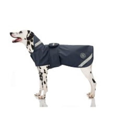 Jacson Hund Regntäcke Marinblå