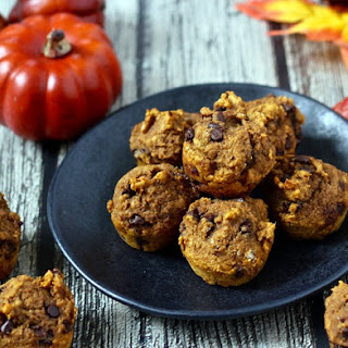 Pumpkin Chocolate Chip Mini Muffins