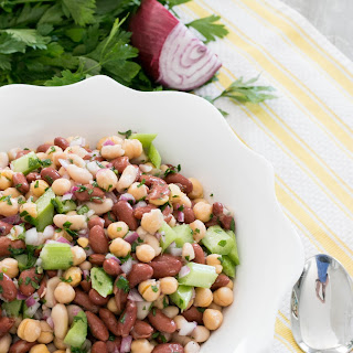 Nutritious Bean Salad #FreakyFriday