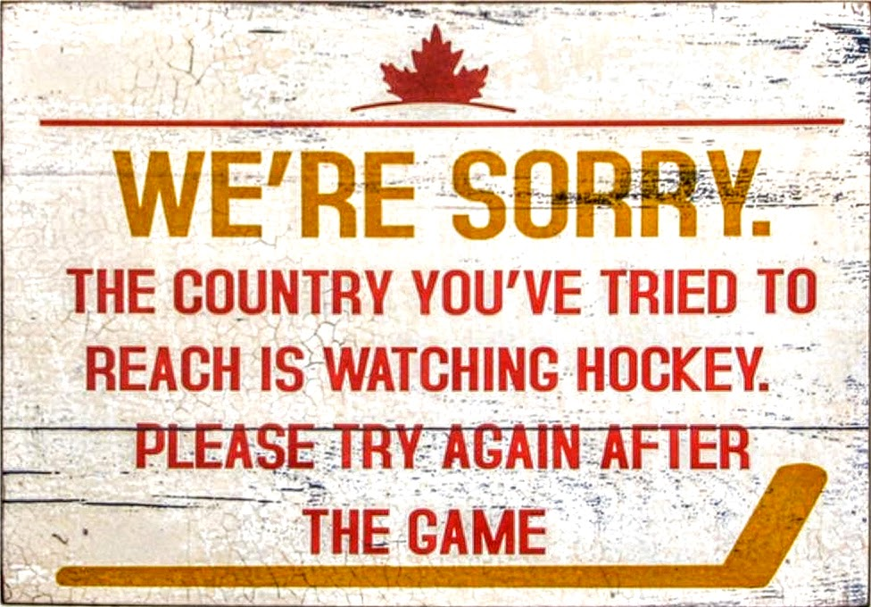 hokej w Kanadzie, hokej, reklama