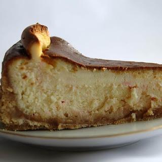 White Chocolate Peppermint Cheesecake!.