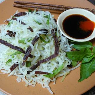 Green Papaya Salad with Beef Jerky Recipe (Goi Du Du Bo Kho).