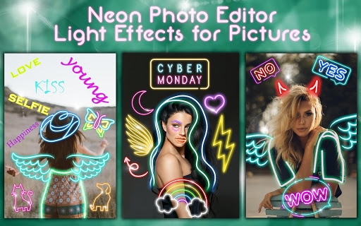Neon Photo Editor ? Light Effects for Pictures 1.1 screenshots 10