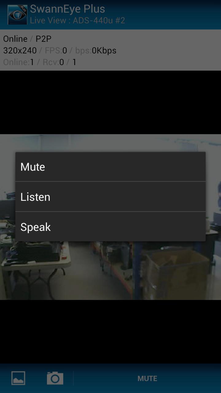 Скриншот SwannEye Plus