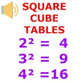 Square Cube Tables
