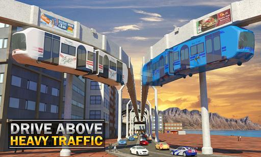 Elevated Train Driving Simulator: Sky Tram Driver apktram screenshots 4