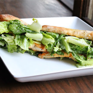 Chicken Caesar Salad Sandwich