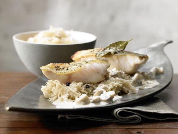 Perch with Sauerkraut Recipe