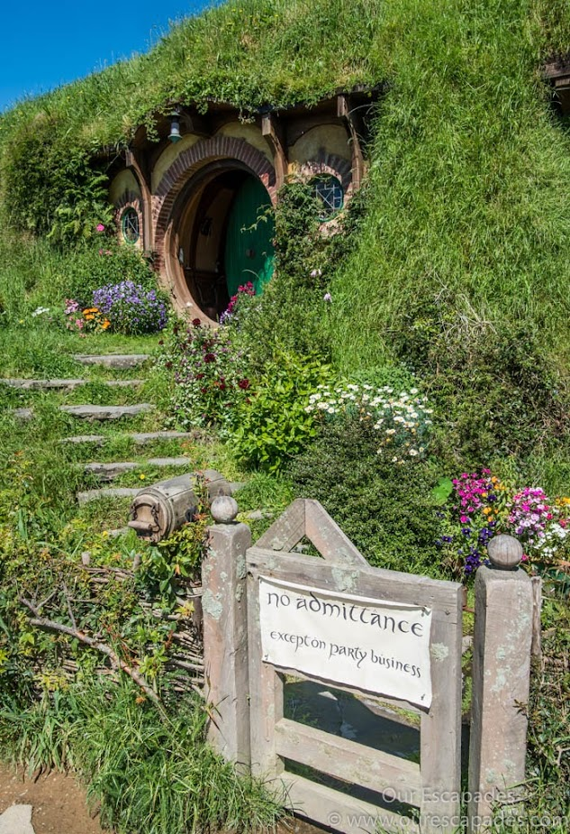 Bilbo Baggin's home
