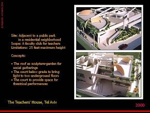 Photo: The Teachers House - Model