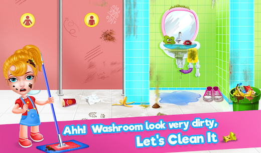 Keep Your House Clean 2 – School Cleanup Story 1.9 (MOD + APK) Download 3