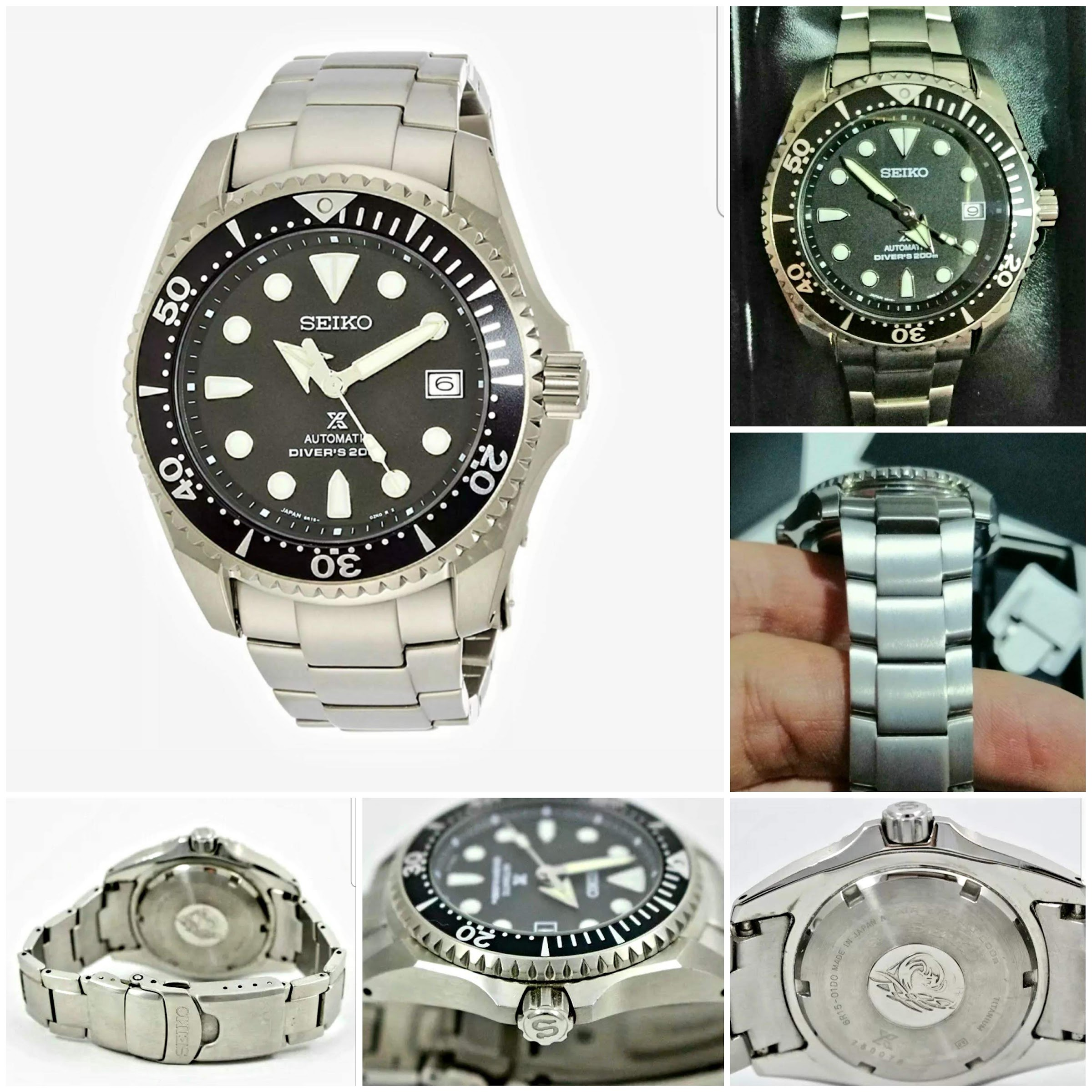 "The Seiko Prospex SBDC029 ""Shogun"" is an impressive ISO certified diving watch. Made of titanium, it can be considered as a great Rolex Submariner alternative. Now available on eBay"