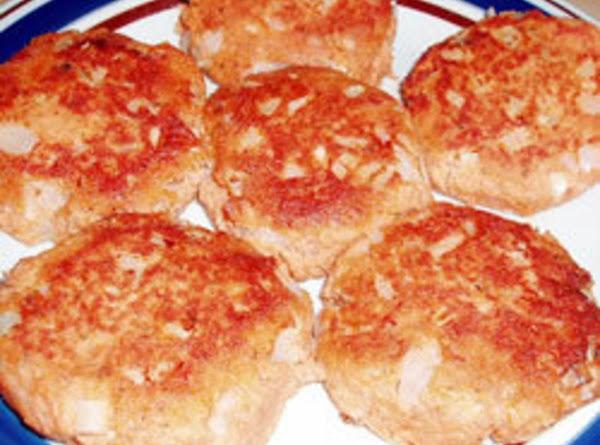 Potato Salmon Patties Recipe