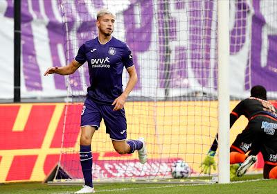 🎥 Le superbe but d'Antoine Colassin avec les U21 d'Anderlecht