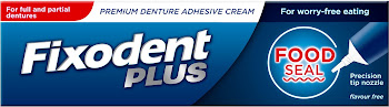 Fixodent Plus Foodseal Denture Adhesive - 40g