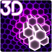 Hex Particles 3D Live Wallpaper