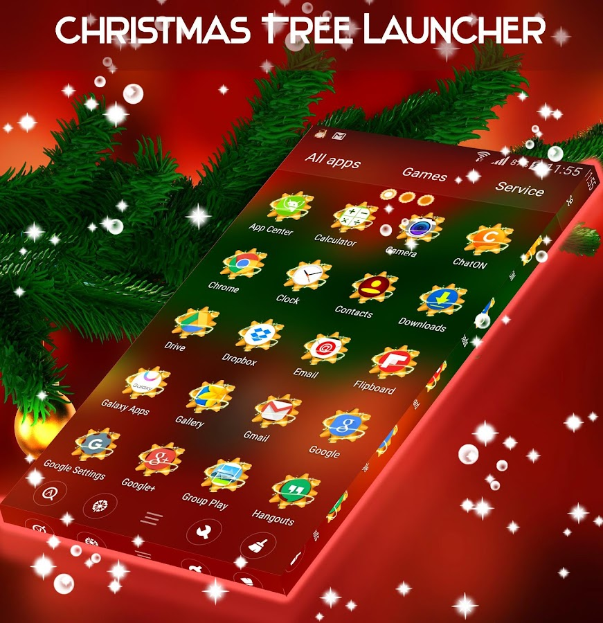Christmas Tree Launcher- screenshot