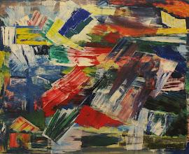 Photo: Stiv kuling, 1965, olie på lærred, 105 x 130,5 cm.