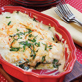 Spinach-Ravioli Lasagna.