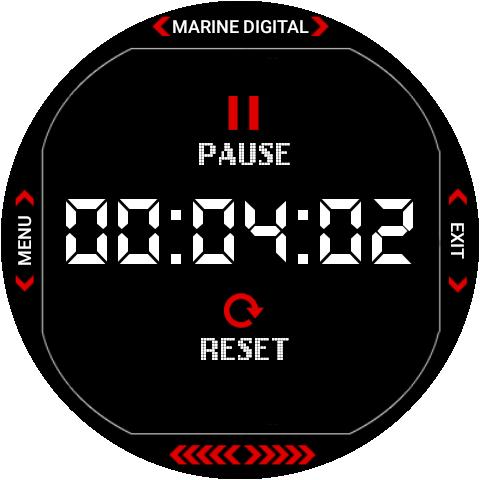 Marine Digital 2 Watch Face & Clock Live Wallpaper 1.07 screenshots 19