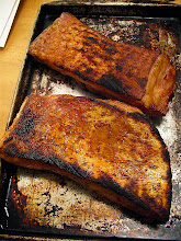 Photo: charcoal grilled pork belly