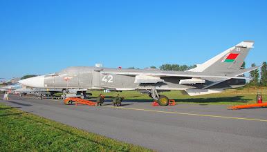Photo: Białoruski samolot bombowy SU-24
