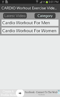 CARDIO Workout Exercise Videos for Men & Women - náhled