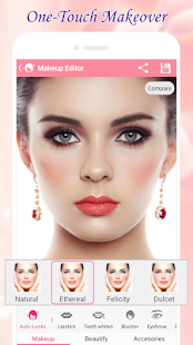 Beauty Makeup – Photo Makeover Screenshot