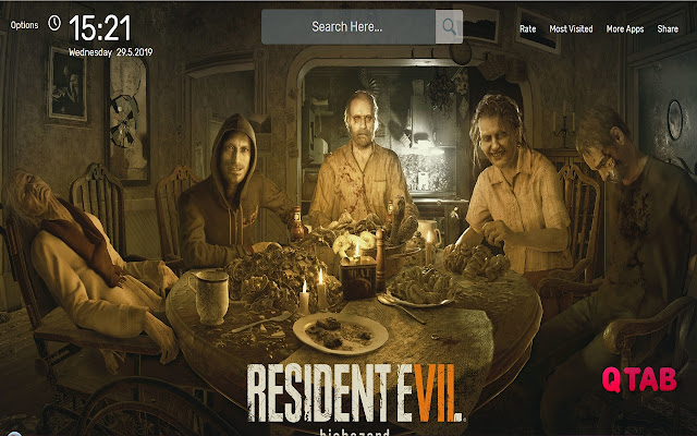 Resident Evil 7 Biohazard Wallpapers Hd Theme