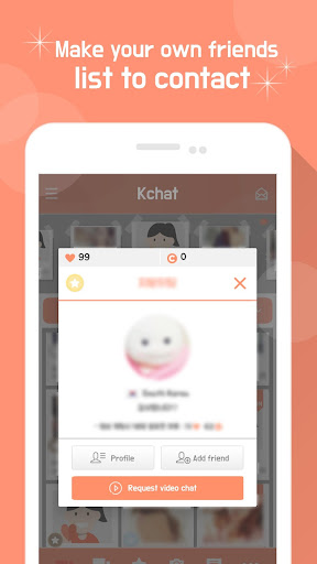 KChat - Video Chat, Live Chat, Chat, Chatting 4.07 screenshots 3