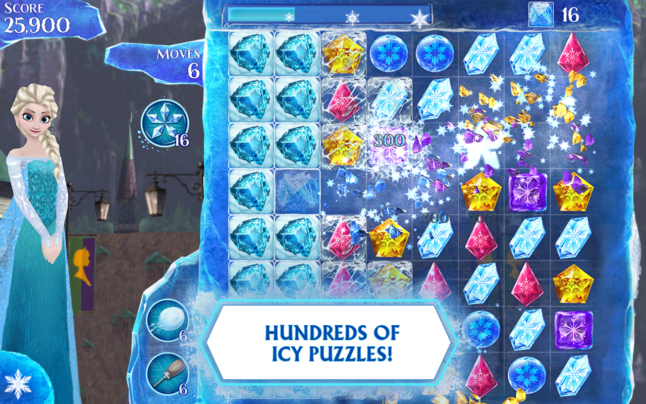 Frozen Free Fall- screenshot
