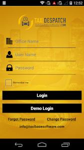 TBMS Driver dispatch software screenshot 0