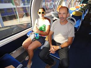 Photo: Samedi matin dans le train de Conflans à Paris
