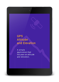My Altitude And Evaluation GPS Android Apps On Google Play - Gps elevation