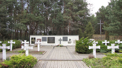 Photo: Cmentarz partyzancki w Wierszach