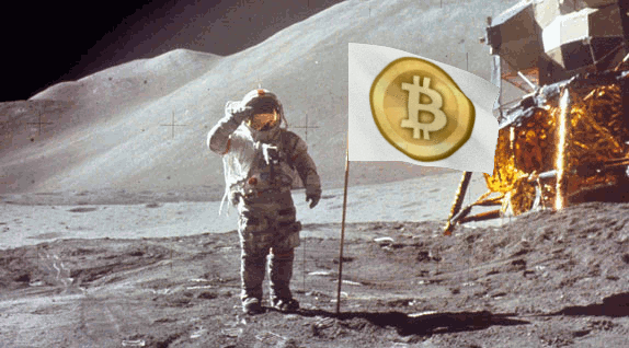 bitcoin meme to the moon