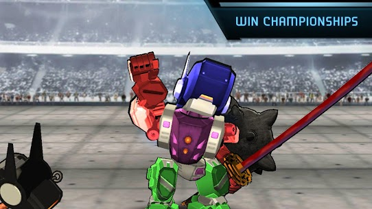 Megabot Battle Arena: Build Fighter Robot Apk Download For Android and Iphone 3