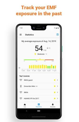 Free EMF Detector, EMF Meter screenshot 3