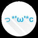 Cloud emoticon icon