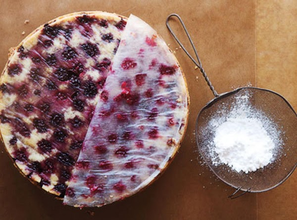 Blackberry Buttermilk Cake Recipe