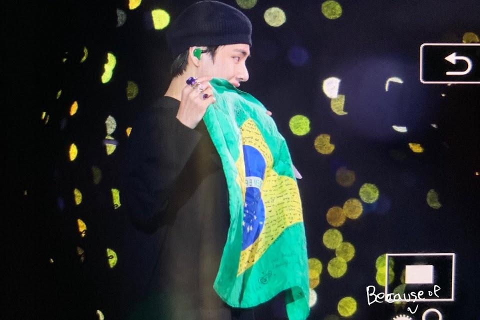 BTS V in Brazil 6