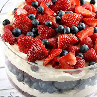 PATRIOTIC RED VELVET TRIFLE Recipe
