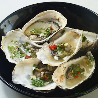 Thai Styled Grilled Oysters