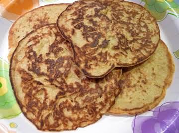 Oatmeal Pancakes (Gluten Free)