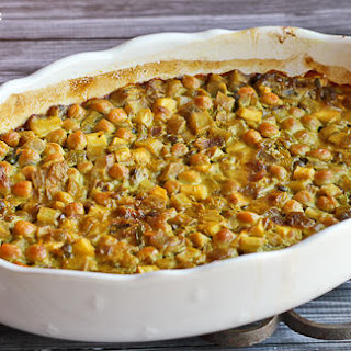 Curried Chickpea Casserole