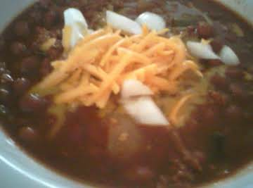 Cheater Chili Recipe